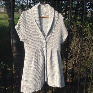 Boston prosper knit gray swearer